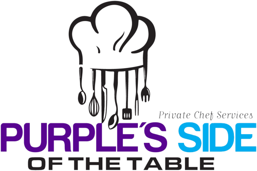 Purple's Side of the Table